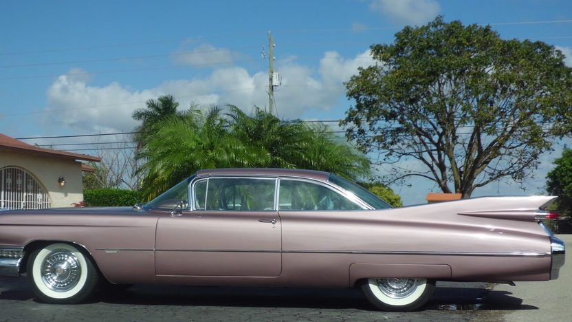 1959 Cadillac Coupe Deville presented as lot S221 at Kissimmee, FL 2013 - image2