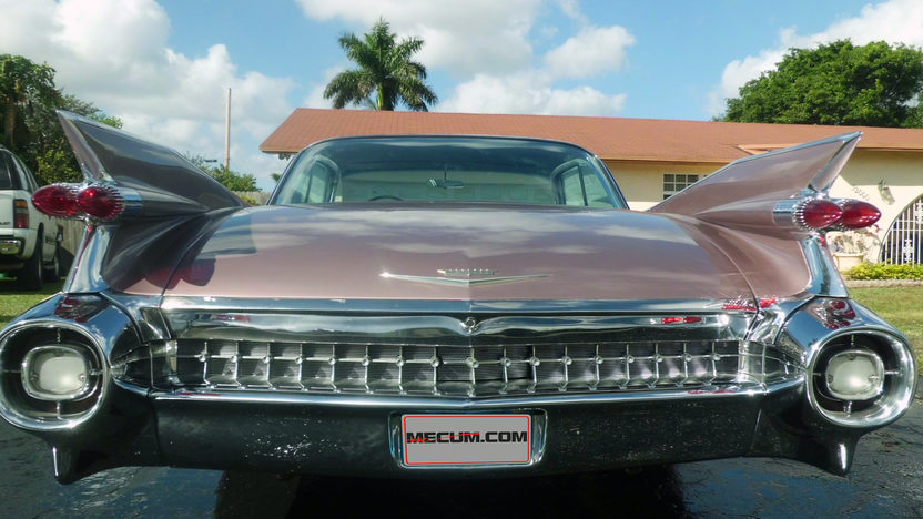 1959 Cadillac Coupe Deville presented as lot S221 at Kissimmee, FL 2013 - image3