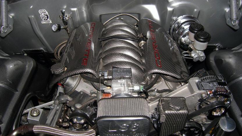 1955 Chevrolet Bel Air Hardtop LS6, Corvette Suspension presented as lot S231 at Kissimmee, FL 2013 - image3