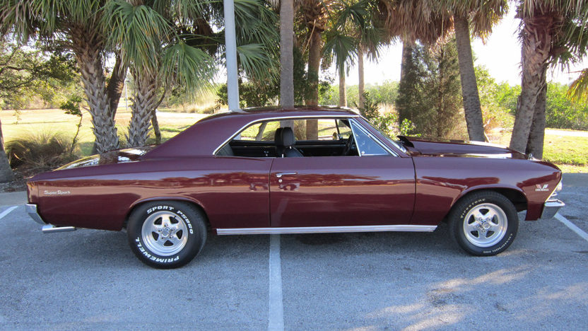 1966 Chevrolet Chevelle 454/450 HP, Automatic presented as lot S241 at Kissimmee, FL 2013 - image2