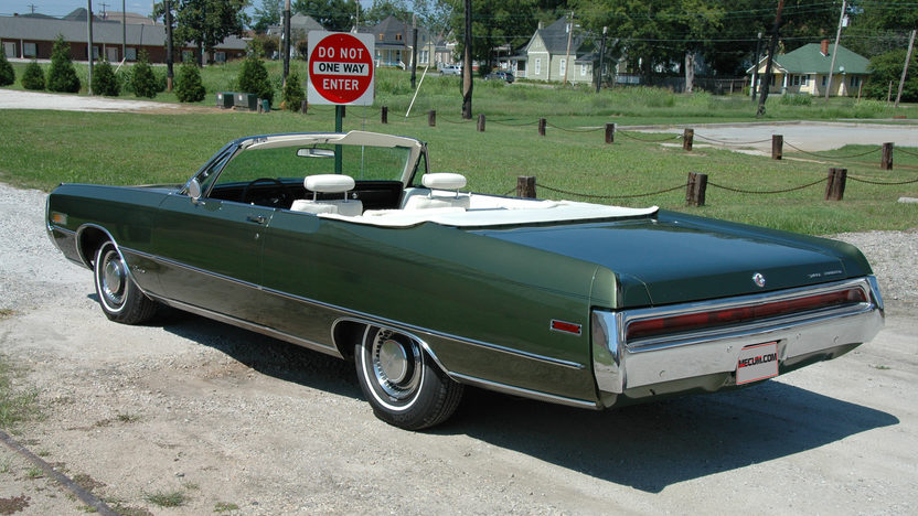 1970 Chrysler 300 Convertible 30,300 Miles presented as lot S245 at Kissimmee, FL 2013 - image5