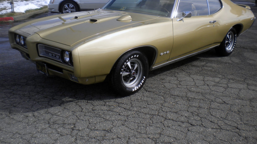 1969 Pontiac GTO 400 CI, Automatic presented as lot K118 at Kissimmee, FL 2013 - image4