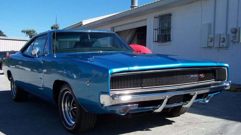 1968 Dodge Charger R/T 440/375 HP, Automatic presented as lot S261 at Kissimmee, FL 2013 - image7