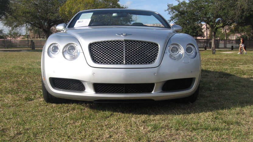 2007 Bentley GTC Convertible 6.0/552 HP, 14,000 Miles presented as lot S281 at Kissimmee, FL 2013 - image10