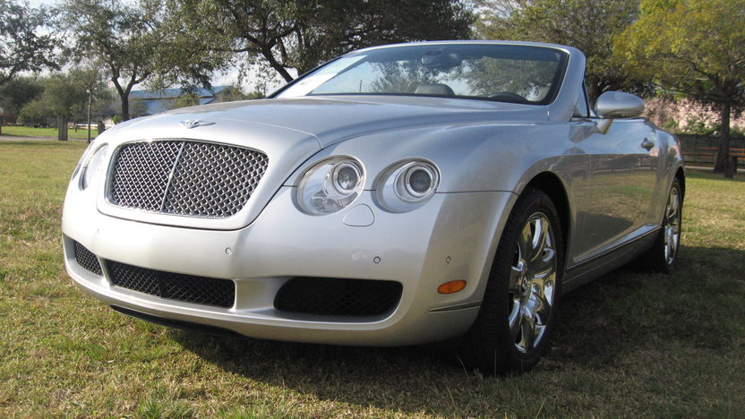 2007 Bentley GTC Convertible 6.0/552 HP, 14,000 Miles presented as lot S281 at Kissimmee, FL 2013 - image11