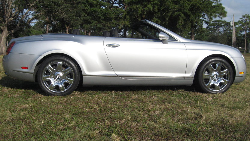 2007 Bentley GTC Convertible 6.0/552 HP, 14,000 Miles presented as lot S281 at Kissimmee, FL 2013 - image2