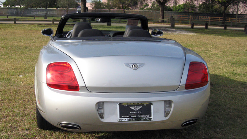 2007 Bentley GTC Convertible 6.0/552 HP, 14,000 Miles presented as lot S281 at Kissimmee, FL 2013 - image3