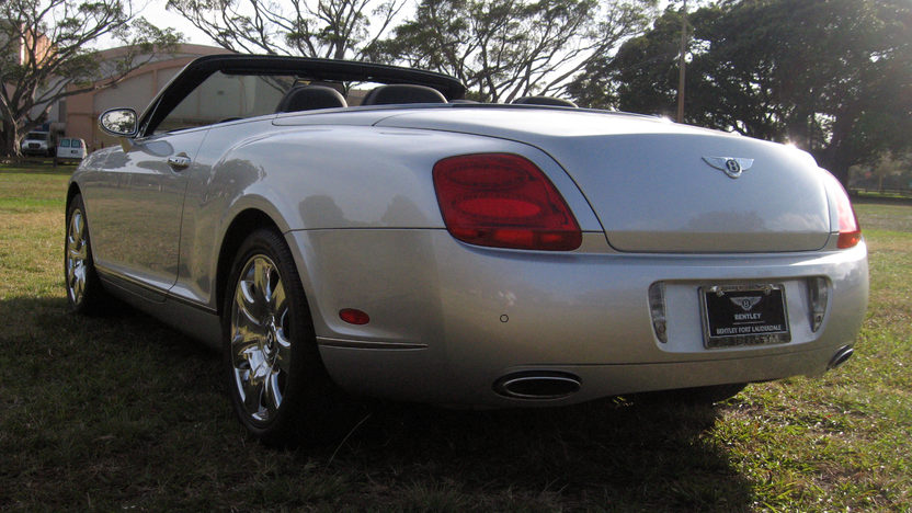 2007 Bentley GTC Convertible 6.0/552 HP, 14,000 Miles presented as lot S281 at Kissimmee, FL 2013 - image9