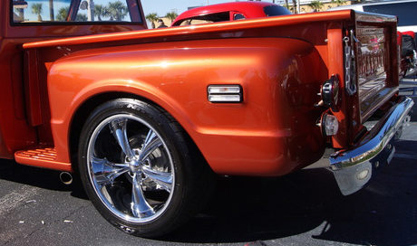 1968 Chevrolet C10 Pickup 350 CI, Automatic presented as lot S294 at Kissimmee, FL 2013 - image3