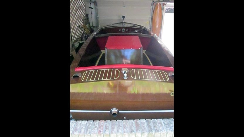 1958 Chris-Craft 17' Cavalier Inboard Utility 131 HP, Trailer Included presented as lot U58 at Kissimmee, FL 2013 - image3