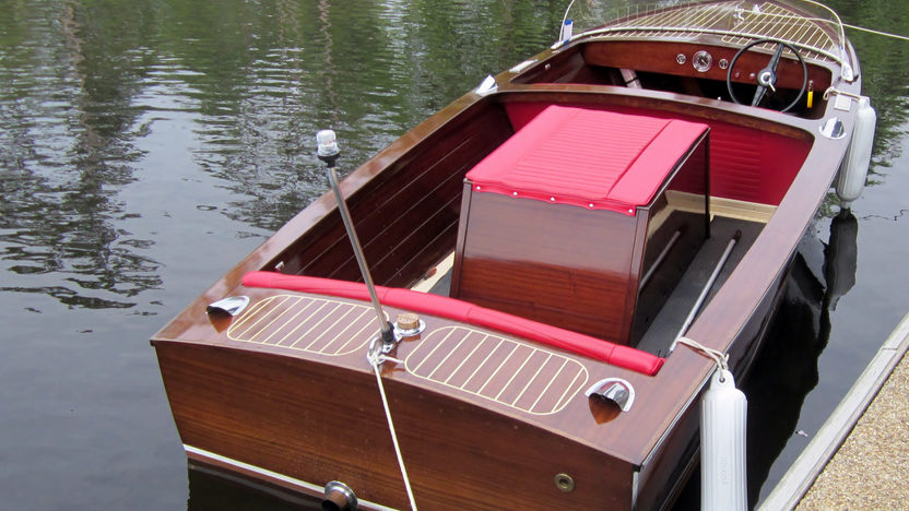 1958 Chris-Craft 17' Cavalier Inboard Utility 131 HP, Trailer Included presented as lot U58 at Kissimmee, FL 2013 - image7