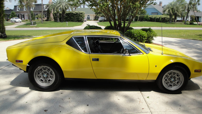 1972 Detomaso Pantera presented as lot U70 at Kissimmee, FL 2013 - image10