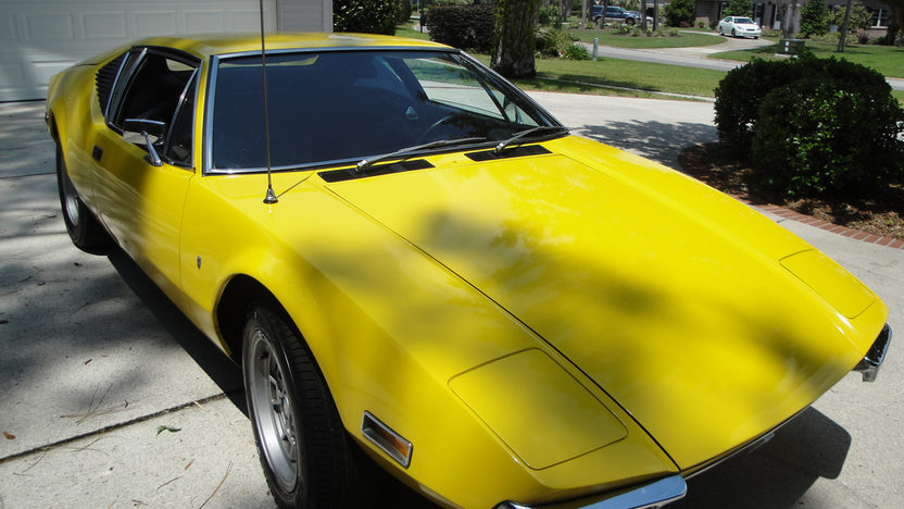 1972 Detomaso Pantera presented as lot U70 at Kissimmee, FL 2013 - image12