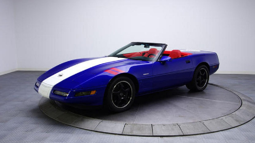 1996 Chevrolet Corvette Grand Sport Convertible Supercharged LT4, 6-Speed presented as lot U144 at Kissimmee, FL 2013 - image7