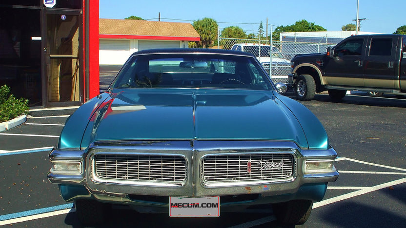 1969 Oldsmobile Toronado 455 CI, Automatic presented as lot W89 at Kissimmee, FL 2013 - image2