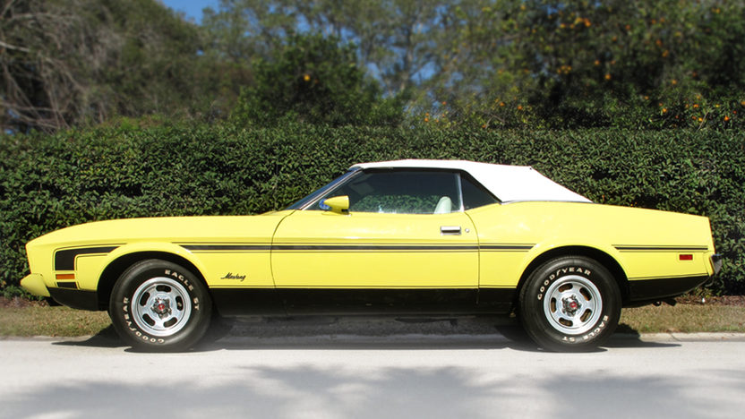 1973 Ford Mustang Convertible 351 CI, 4-Speed presented as lot J34 at Kissimmee, FL 2013 - image2