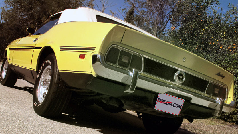 1973 Ford Mustang Convertible 351 CI, 4-Speed presented as lot J34 at Kissimmee, FL 2013 - image3