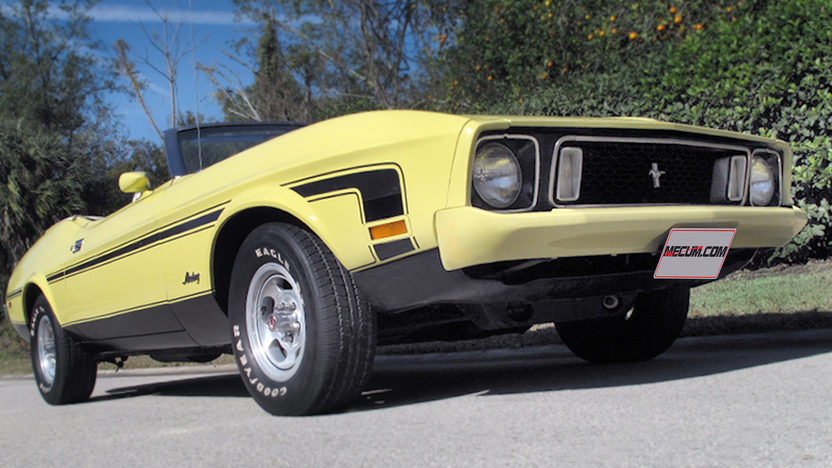 1973 Ford Mustang Convertible 351 CI, 4-Speed presented as lot J34 at Kissimmee, FL 2013 - image8