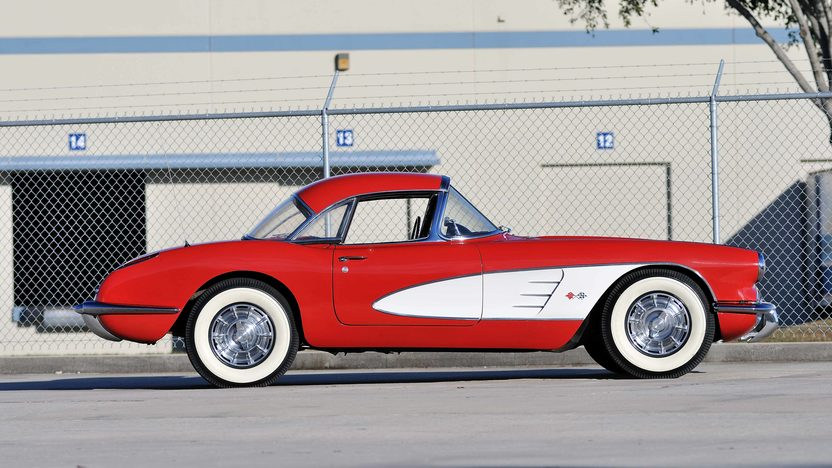 1959 Chevrolet Corvette Convertible 283/245 HP, 4-Speed presented as lot J56 at Kissimmee, FL 2013 - image2
