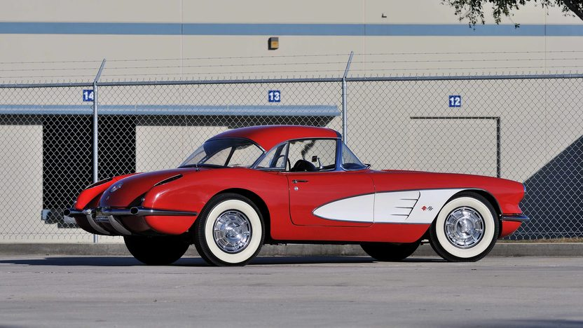 1959 Chevrolet Corvette Convertible 283/245 HP, 4-Speed presented as lot J56 at Kissimmee, FL 2013 - image3