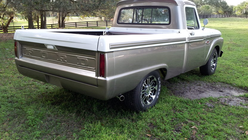 1965 Ford F100 Pickup 300 CI, Automatic presented as lot J100 at Kissimmee, FL 2013 - image3