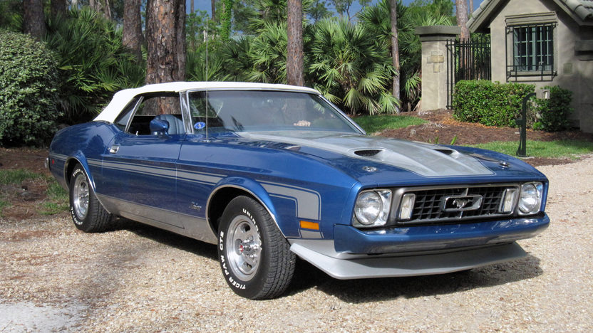 1973 Ford Mustang Convertible 351 CI, Automatic presented as lot J187 at Kissimmee, FL 2013 - image10