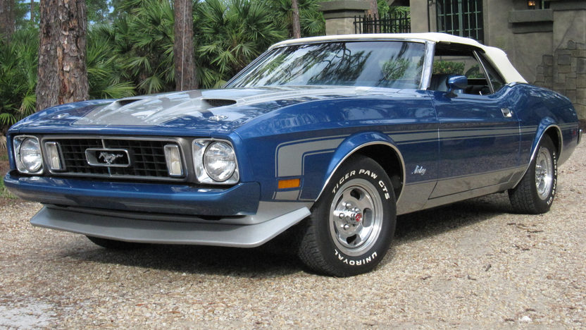 1973 Ford Mustang Convertible 351 CI, Automatic presented as lot J187 at Kissimmee, FL 2013 - image11