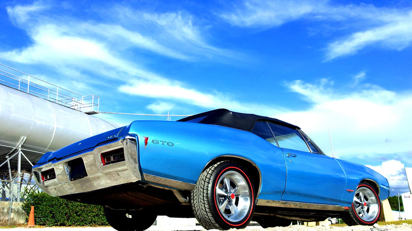 1968 Pontiac Lemans Convertible presented as lot K13 at Kissimmee, FL 2013 - image2