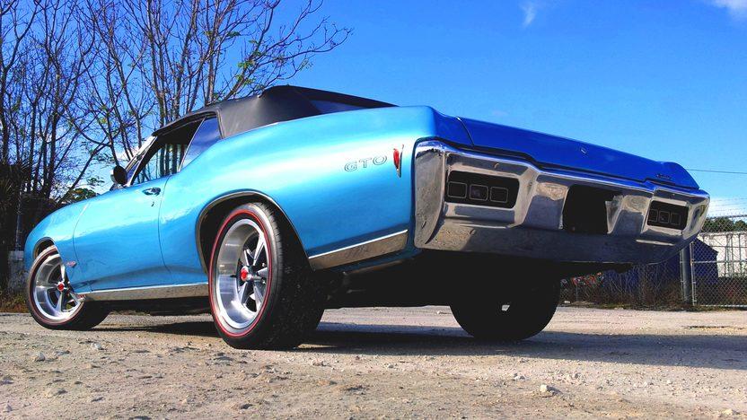 1968 Pontiac Lemans Convertible presented as lot K13 at Kissimmee, FL 2013 - image4