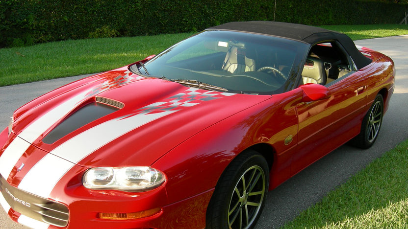 2002 Chevrolet Camaro Z28 Convertible 35th Anniversary, 4,762 Miles presented as lot K52 at Kissimmee, FL 2013 - image10