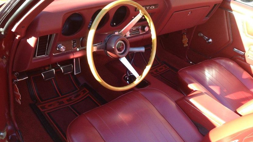 1969 Pontiac GTO Convertible 400 CI, 4-Speed presented as lot K113 at Kissimmee, FL 2013 - image5