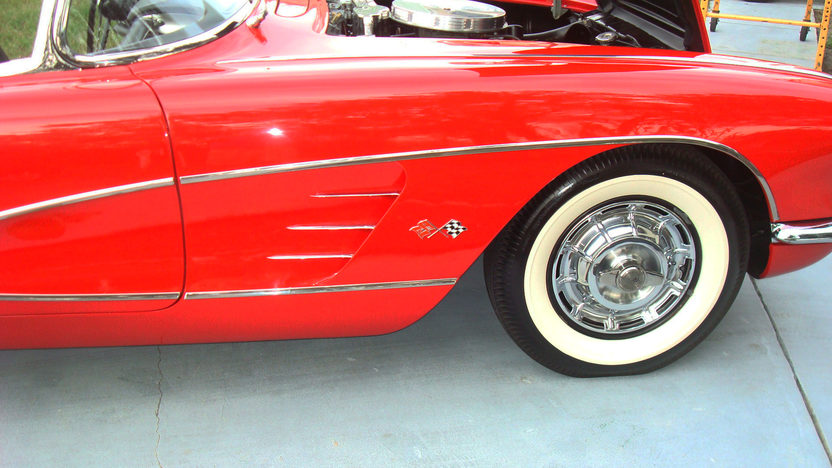 1959 Chevrolet Corvette 283/235 HP, Automatic presented as lot K123 at Kissimmee, FL 2013 - image10