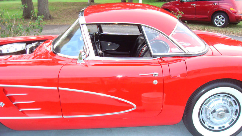 1959 Chevrolet Corvette 283/235 HP, Automatic presented as lot K123 at Kissimmee, FL 2013 - image11