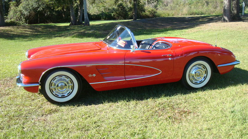 1959 Chevrolet Corvette 283/235 HP, Automatic presented as lot K123 at Kissimmee, FL 2013 - image2
