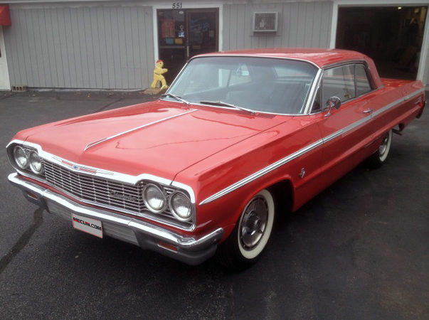 1964 Chevrolet Impala SS Hardtop 409 CI, Automatic presented as lot K138 at Kissimmee, FL 2013 - image7