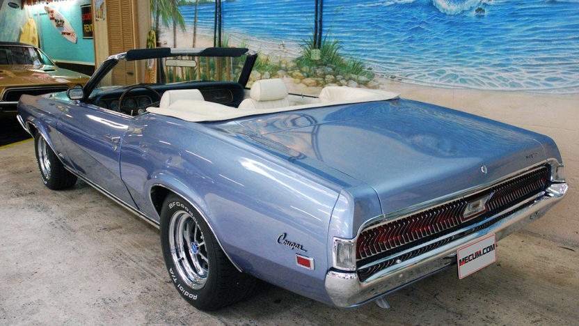 1969 Mercury Cougar XR7 Convertible 390 CI, Automatic presented as lot K161 at Kissimmee, FL 2013 - image3