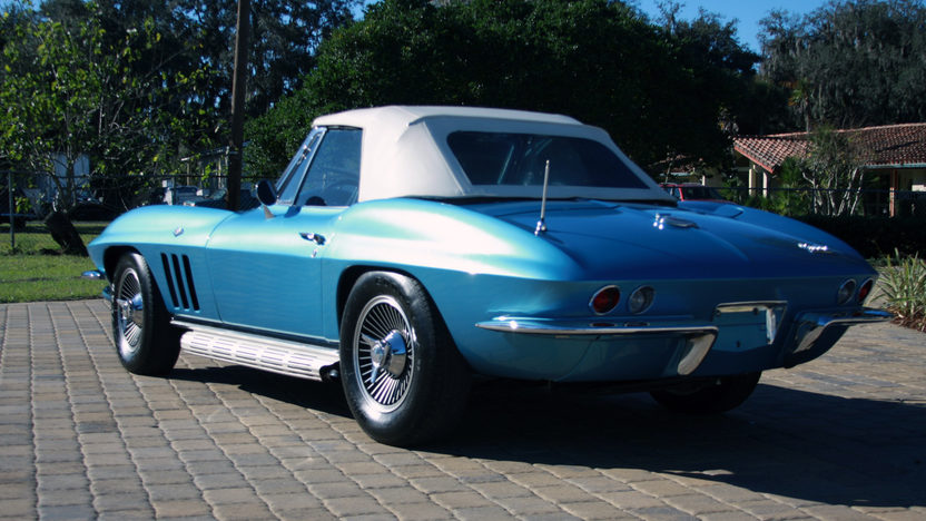 1966 Chevrolet Corvette Convertible 327 CI, 4-Speed presented as lot W187 at Kissimmee, FL 2013 - image3
