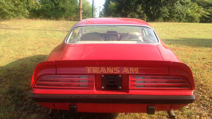 1974 Pontiac Trans Am Super Duty 455 CI, Automatic presented as lot K174 at Kissimmee, FL 2013 - image2