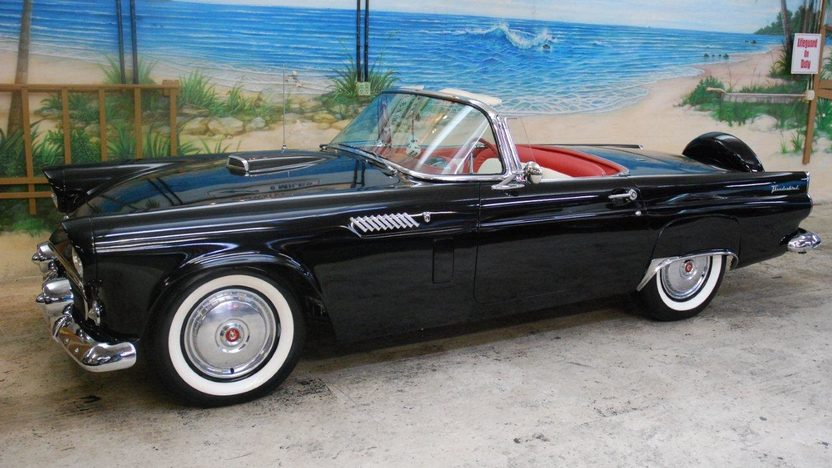 1956 Ford Thunderbird Convertible 312 CI, Automatic presented as lot K187 at Kissimmee, FL 2013 - image11