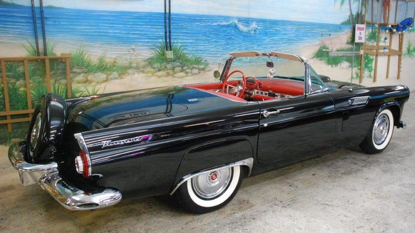 1956 Ford Thunderbird Convertible 312 CI, Automatic presented as lot K187 at Kissimmee, FL 2013 - image2