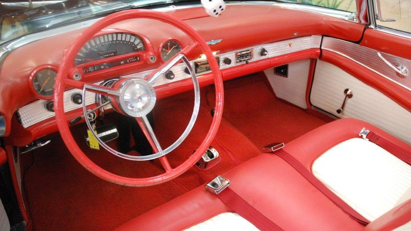 1956 Ford Thunderbird Convertible 312 CI, Automatic presented as lot K187 at Kissimmee, FL 2013 - image3