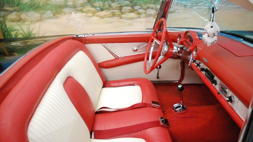 1956 Ford Thunderbird Convertible 312 CI, Automatic presented as lot K187 at Kissimmee, FL 2013 - image4