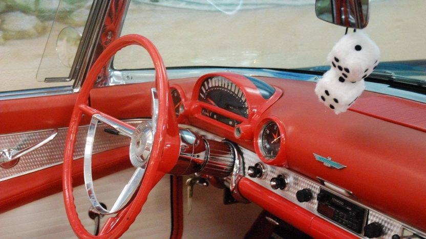 1956 Ford Thunderbird Convertible 312 CI, Automatic presented as lot K187 at Kissimmee, FL 2013 - image5