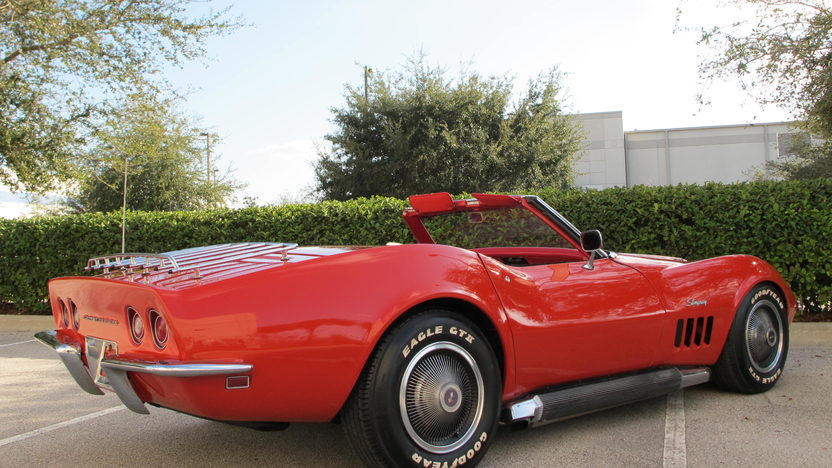 1969 Chevrolet Corvette Convertible 427 CI, Automatic presented as lot K199 at Kissimmee, FL 2013 - image11