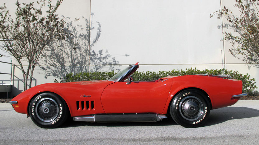 1969 Chevrolet Corvette Convertible 427 CI, Automatic presented as lot K199 at Kissimmee, FL 2013 - image2