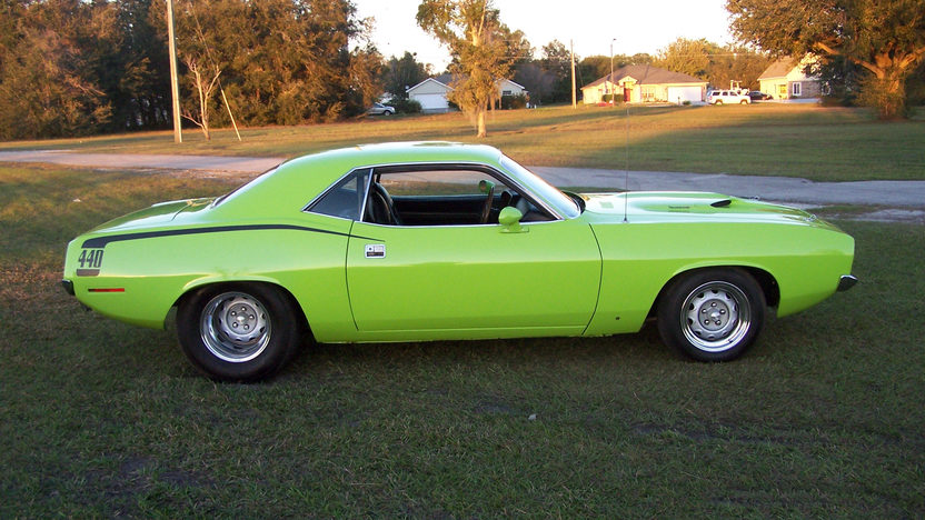1970 Plymouth Cuda 440/450 HP presented as lot K242 at Kissimmee, FL 2013 - image6