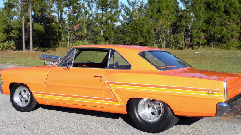 1967 Chevrolet Nova Pro Street presented as lot K247 at Kissimmee, FL 2013 - image2