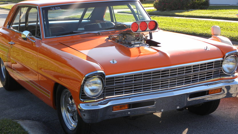 1967 Chevrolet Nova Pro Street presented as lot K247 at Kissimmee, FL 2013 - image7