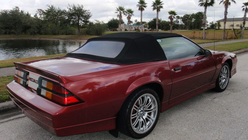 1989 Chevrolet Camaro RS Convertible 305 CI, Automatic presented as lot L34 at Kissimmee, FL 2013 - image2