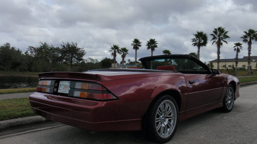 1989 Chevrolet Camaro RS Convertible 305 CI, Automatic presented as lot L34 at Kissimmee, FL 2013 - image4
